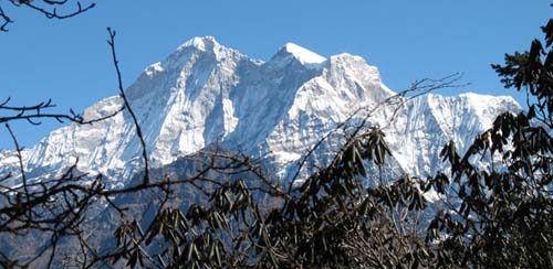 Holy Mt. Gaurishankar peak