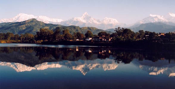 Scenic trip to Nepal