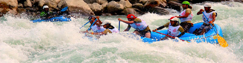 Sheti River rafting